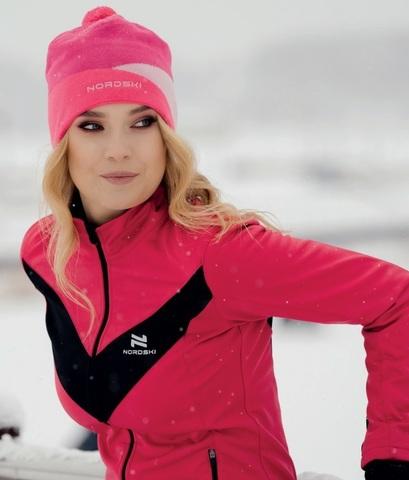 Nordski Jr Base детский беговой костюм pink