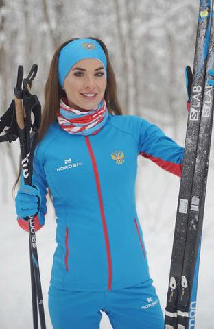Nordski Elite RUS разминочная куртка женская