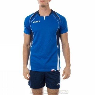 Asics Set Olympic Man волейбольная форма мужская blue