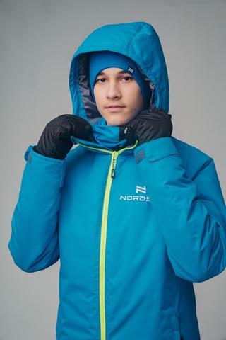 Nordski Jr Motion утепленный лыжный костюм детский blue