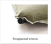 Alexika Travel 66 самонадувающийся коврик burgundy red - 4