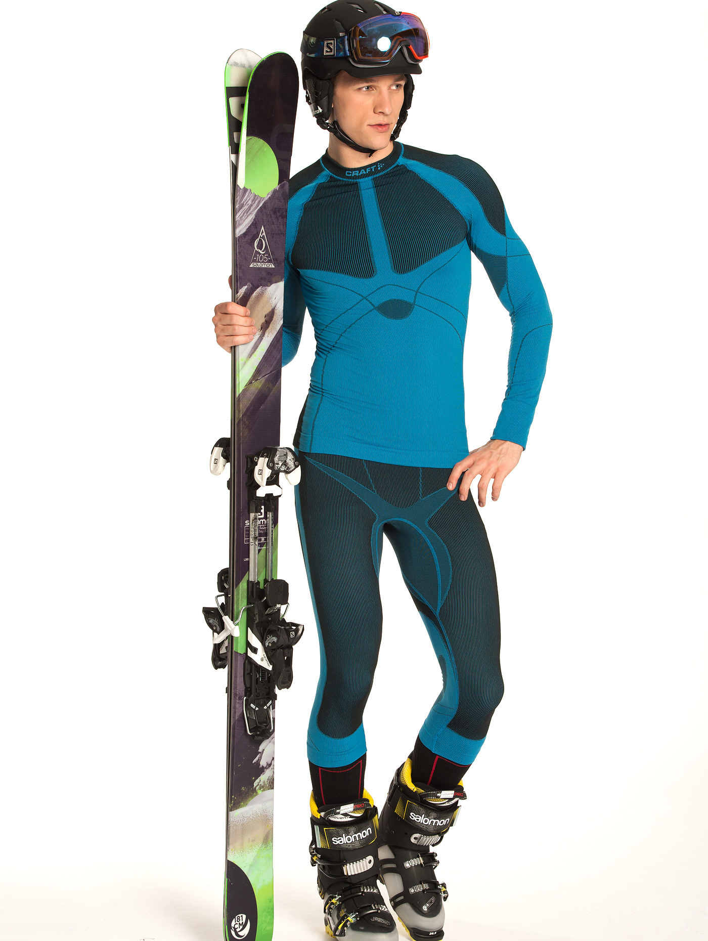 Термобелье Рубашка Craft Warm мужская blue - 2