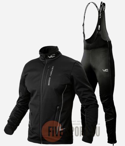 Victory Code Speed A2 Warm лыжный костюм унисекс black