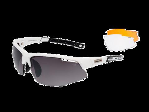 Goggle Falcon спортивные очки  white-black