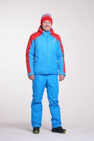 Nordski Jr National прогулочный лыжный костюм детский blue