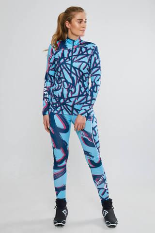 Женский лыжный гоночный комбинезон Craft Pace XC