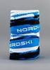Nordski Stripe многофункциональный баф deep blue - 1