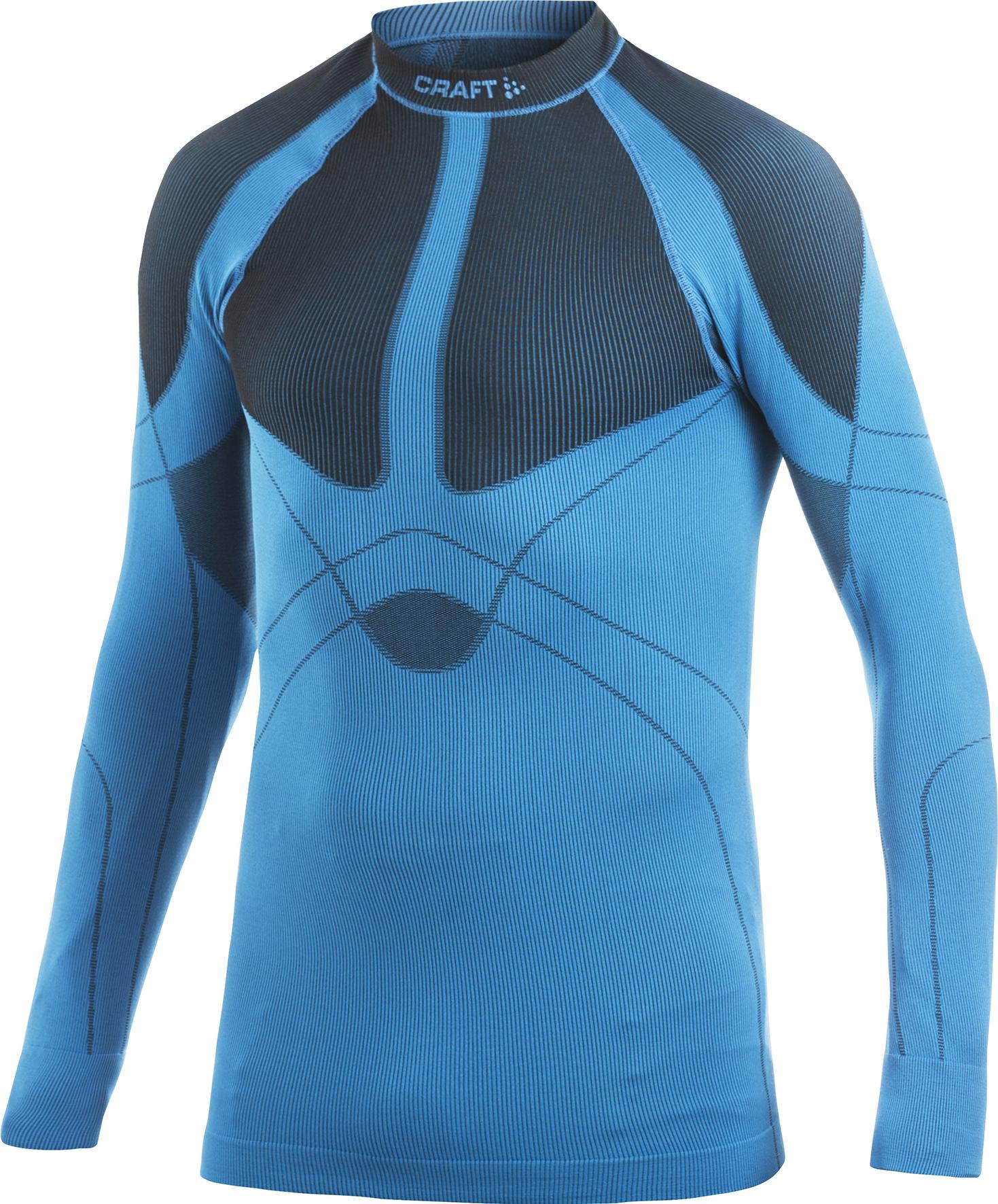 Термобелье Рубашка Craft Warm мужская blue - 3