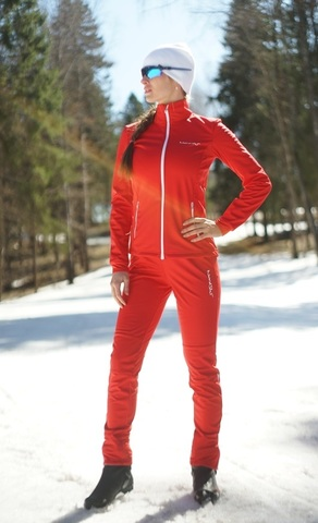 Nordski Россия женский лыжный разминочный костюм