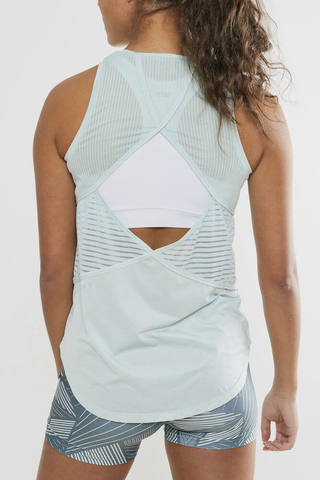 Craft Nrgy комплект для фитнеса женский light blue-gravity