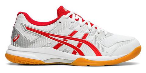 Asics Gel Rocket 9 кроссовки волейбольные женские белые-красные
