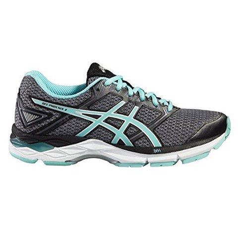 Кроссовки для бега женские Asics Gel Phoenix 8 серые-бирюзовые
