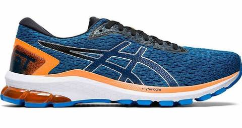 Asics Gt 1000 9 кроссовки для бега мужские темно-синие
