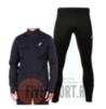 Asics Warm Silver костюм для бега мужской черный - 1