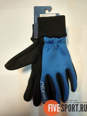 Nordski Warm WS детские лыжные перчатки синие