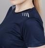 Nordski Run футболка для бега женская dress blue - 3