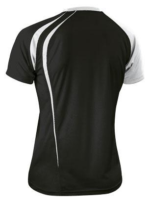 Asics T-shirt Fan Man футболка волейбольная black