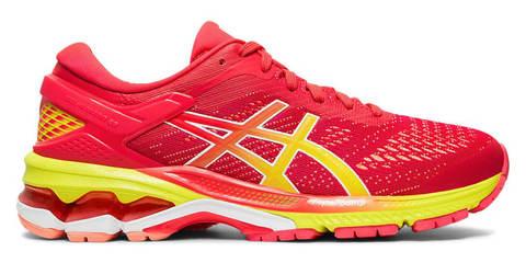 Asics Gel Kayano 26 кроссовки для бега женские красные
