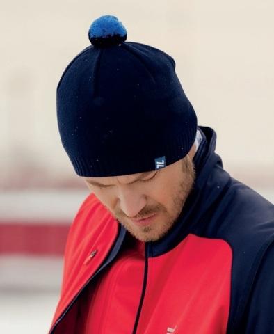 Nordski Sport лыжная шапка темно-синяя