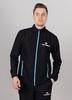 Nordski Motion куртка ветровка мужская Black/Light Blue - 1