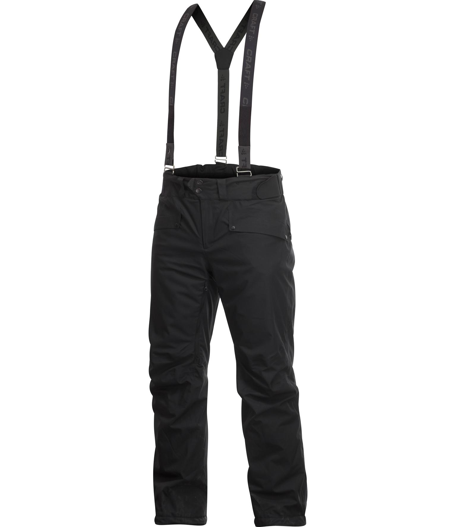 Брюки Craft Warm мужские черные - 3