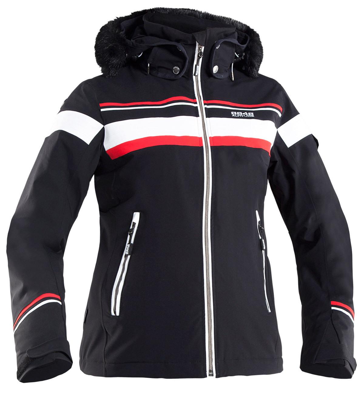 Горнолыжная куртка 8848 Altitude Carlin черная