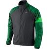 Ветровка Nike Windfly Jacket чёрно-зелёная - 1