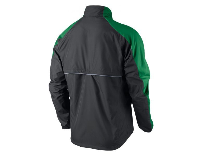 Ветровка Nike Windfly Jacket чёрно-зелёная - 2
