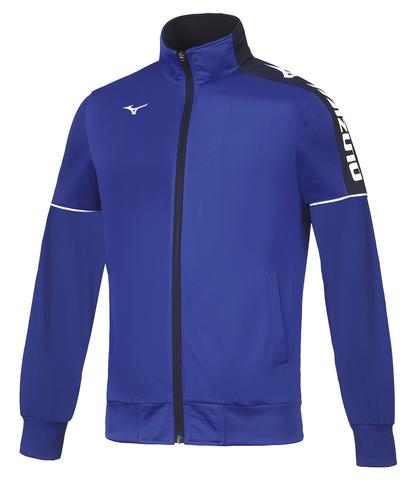 Mizuno Track Jacket ветрозащитная куртка для бега мужская синяя