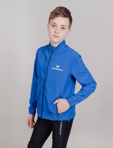 Nordski Jr Motion костюм беговой детский синий-нави