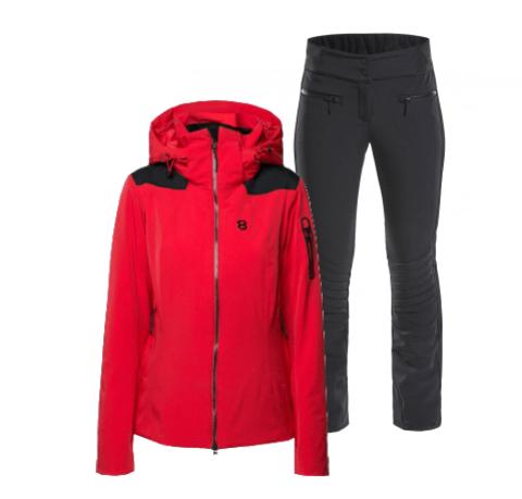 8848 Altitude Adali Randy Slim горнолыжный костюм женский red-black