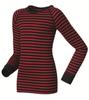 Odlo Warm детское термобелье рубашка синяя-красная - 1