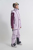 Cool Zone INTRO комбинезон женский сноубордический лавандовый-бордовый - 5