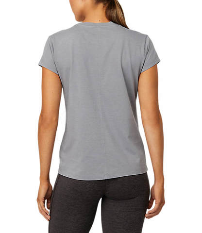 Asics Fuji Trail Tea футболка для бега женская серая