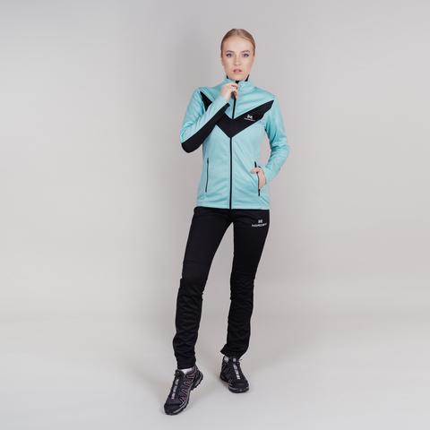 Nordski Base тренировочная куртка женская mint