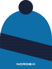 Nordski Line лыжная шапка light blue