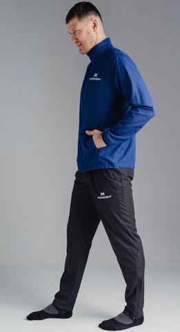 Nordski Motion куртка для бега мужская navy-dark blue