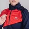 Nordski Premium разминочная куртка женская blueberry-red - 4