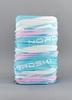 Nordski Stripe многофункциональный баф синий-розовый - 1