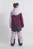 Cool Zone INTRO комбинезон женский сноубордический лавандовый-бордовый - 4