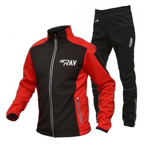 RAY Race WS лыжный костюм унисекс black-red