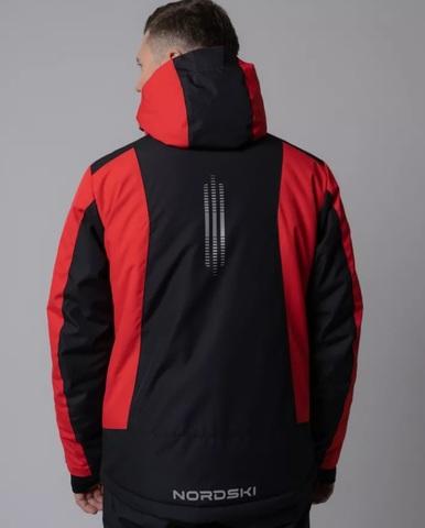 Nordski Extreme горнолыжный костюм мужской black-red