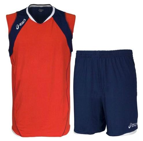 Форма волейбольная Asics Set Volley Smu красная