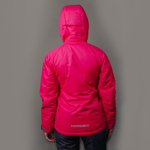 Nordski Motion женская прогулочная куртка Raspberry