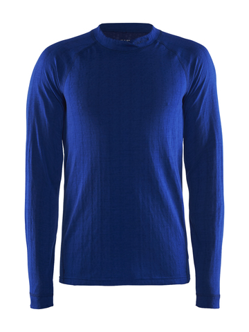 Терморубашка мужская Craft Nordic Wool синяя