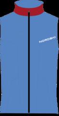Nordski Jr National детский лыжный жилет blue