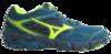 Беговые кроссовки женские Mizuno Wave Kien 4 GoreTex бирюзовые - 1