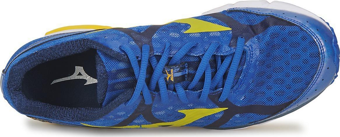 Mizuno Wave Rider 17 кроссовки для бега синие - 3