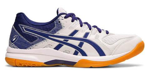 Asics Gel Rocket 9 кроссовки волейбольные женские белые-синие