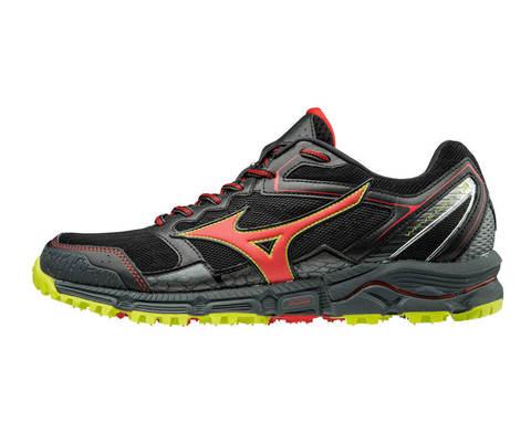 Кроссовки для бега мужские Mizuno Wave Daichi 3 черные